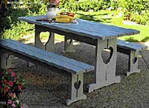 Picnic Table Plans & Benches