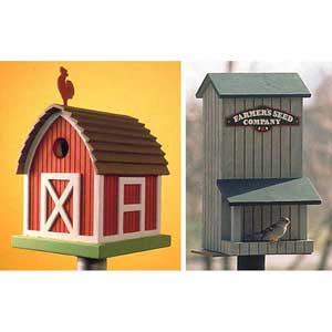 Birdhouse Birdfeeder plans