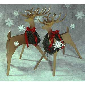 Sleek & Stylish Reindeer Plans