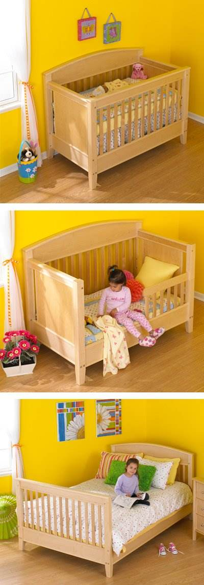3-in-1 Transitional Crib Bed Plan