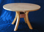 A Round Dining Table