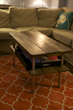 A Rustic Coffee Table