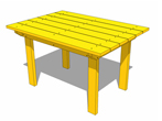 Simple Patio Table Plans