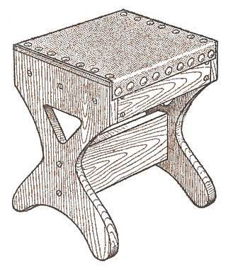 Foot Stool Plans - Build a Foot Stool