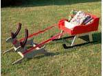 Sleigh with Reindeer Plan