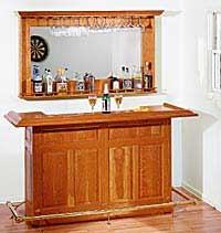 Home Bar Plan and Hardware