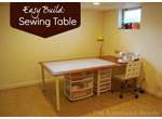 On a Budget Sewing Table