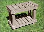 Deck-Wood Bench