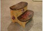 Re-purposed Step Stool